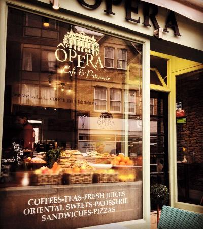 Opera Cafe Located At Walton Street Jericho Oxford Picture - Where is oxford located