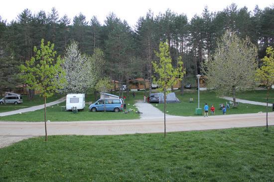 Isaba, Испания: acampada