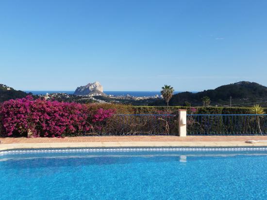 Hotel La Madrugada Benissa zwembad uitzicht