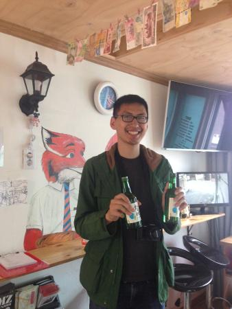 our amazing guest terrence bought us 2 bottle of soju for rh tripadvisor ie