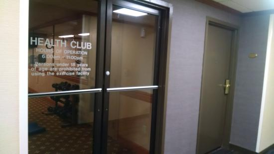 room 259 has adjoining doors to the health club picture of rh tripadvisor co za