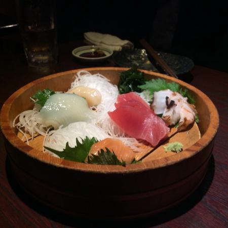 Chimuni Hirakawachoten: 刺身の盛り合わせ
