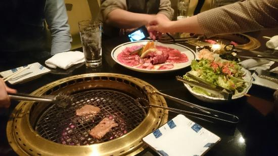 Yakiniku (Grilled meat) Sumibitei Kagurazaka