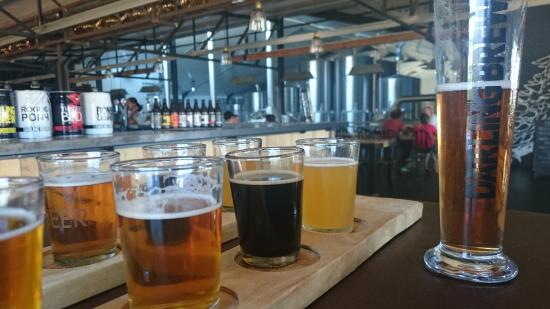 Darling Brewery: Beer tasting at Darling Brew