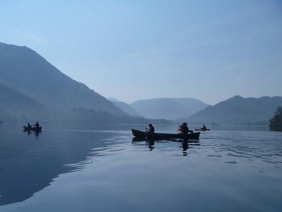 Penrith, UK: Canoeing on Ullswater