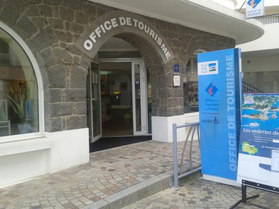 Pleneuf-Val-Andre, France: Bienvenue à l'Office de Tourisme !