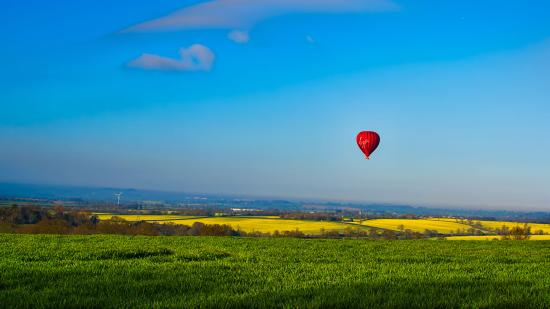 Virgin Balloon Flights - Northampton, Hanging Houghton