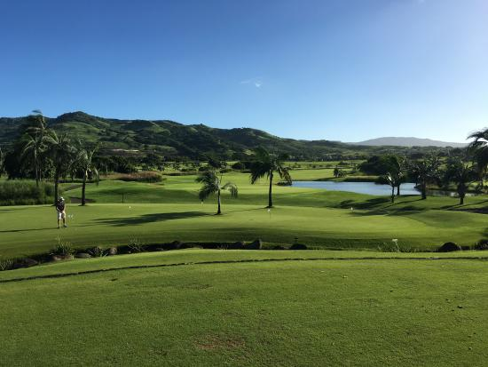 Heritage Golf Club: View from clubhouse.