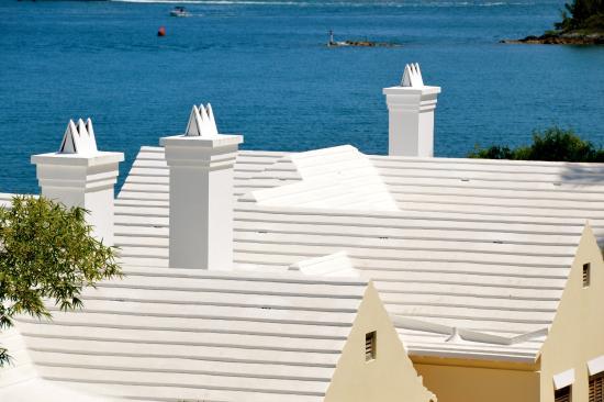 Hamilton, Bermudas: Bermuda White Roof Tops