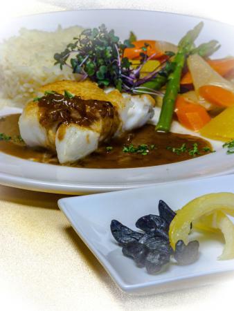 Allegra Restaurant: Ocean Wise Icelandic cod filet