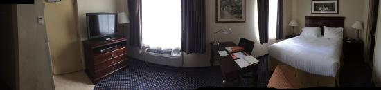 Fort Stewart, Géorgie: Panoramic view of my room/suite