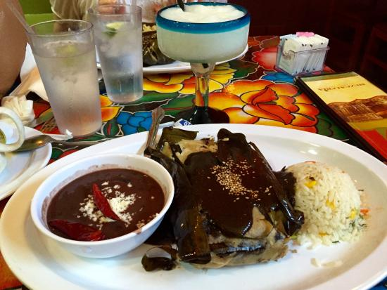 Guelaguetza: Tamal with rice and beans