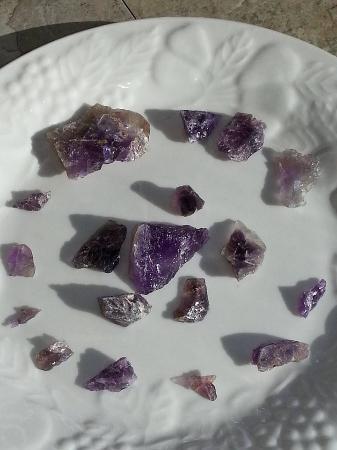 Morefield Mine: Amethyst