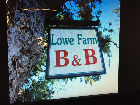 Pembridge, UK: And it says it in the name Lowe farm B&B