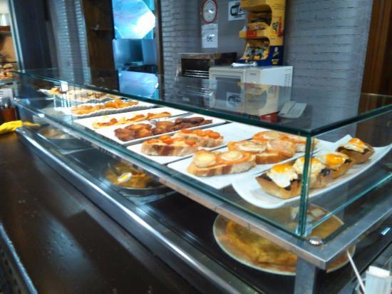 El Zaguan Restaurante: pinchos