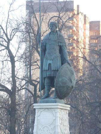 Monument to Saint Dmitriy Solunskiy