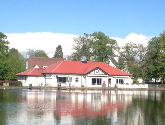 The Boathouse Coffee Shop, Rouken Glen Park, Giffnock.