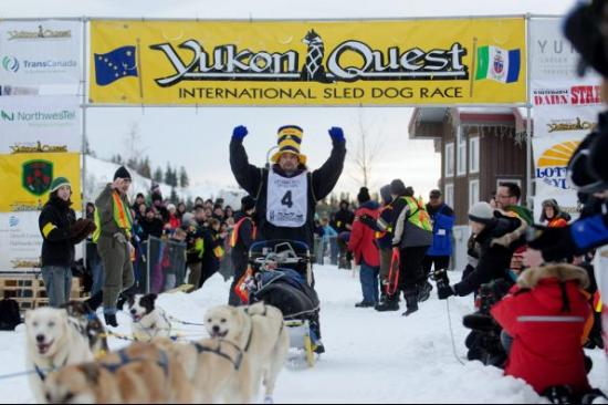 Tok, AK: Our local Yukon Quest Champion