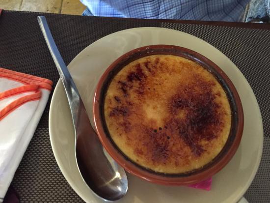 Le Lamentin, Martinique: Crème brulée