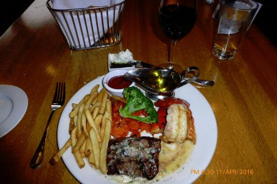 The Timbers Restaurant: $20SteakLobster