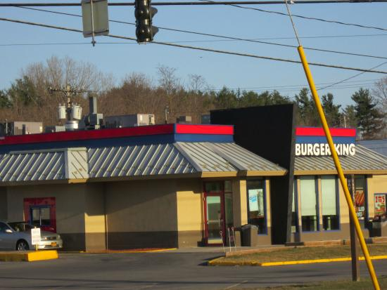 Potsdam, NY: Burger King is on the corner, across from Walgreens