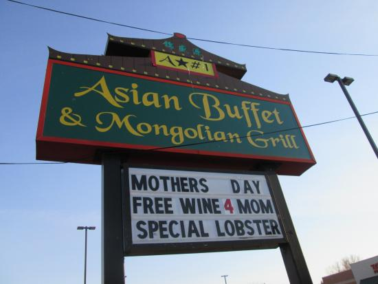 Asian Buffet & Mongolian Grill: Always open on holidays