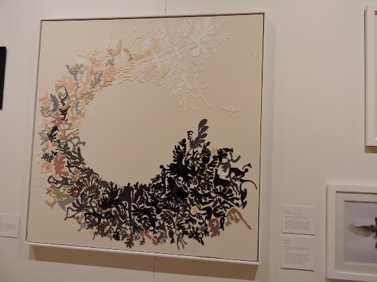 Sarjeant Gallery: Felt Art work