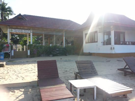 Hacienda Beach Resort: Hotel from beach