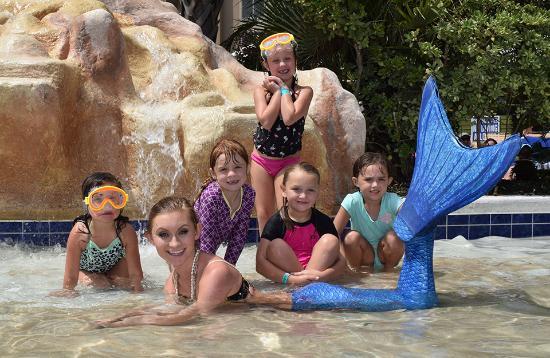 Mermaid birthday party Picture of Myrtle Beach Mermaids