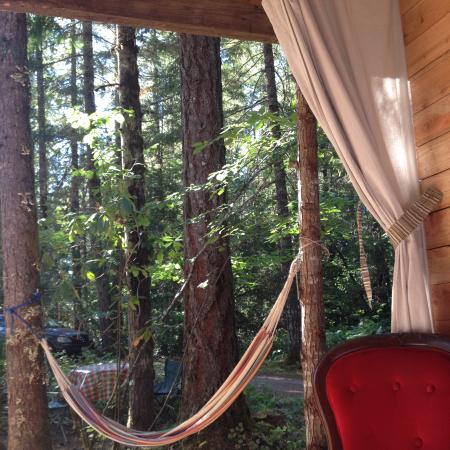 Idanha, OR: Your hammock is waiting