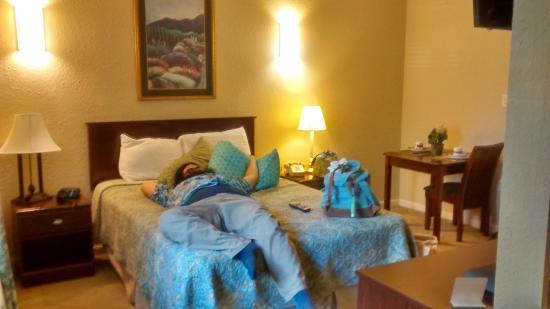 أثينز هوتل سويتس: Super clean room and comfy bed!