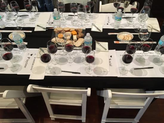 Carrera Wine Cellar Table set up for wine tasting and blending & Table set up for wine tasting and blending - Picture of Carrera Wine ...