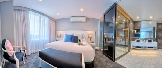 Canberra Rex Hotel: Imperial Suite - our one of a kind Suite featuring a private sauna and oversized bathroom
