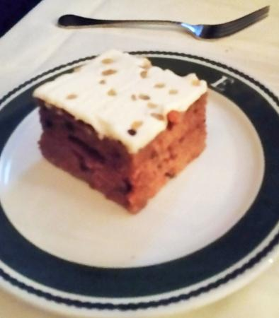 Wilton, estado de Nueva York: Carrot cake.