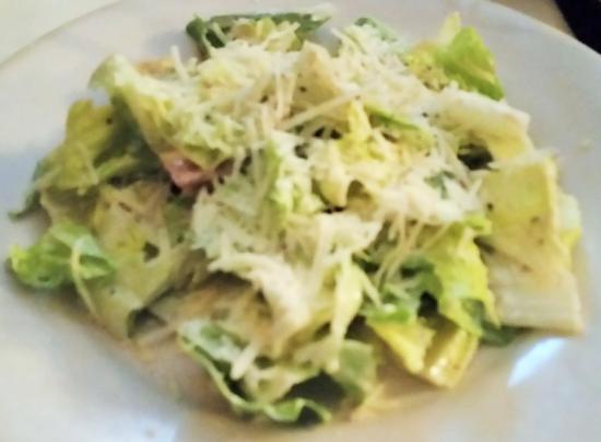 Wilton, นิวยอร์ก: Caesar salad.