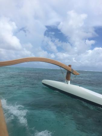 Moorea, Fransız Polinezyası: Beautiful ride!