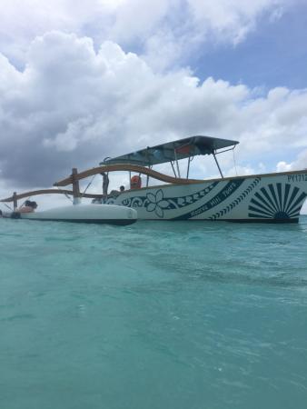 Moorea, Fransız Polinezyası: beautiful boat!