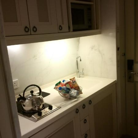 Kitchenette in room - Picture of Lanson Place Hotel, Hong Kong ...