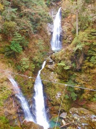 Shiso, Япония: 橋から見る原不動滝