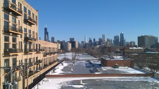 Chicago South Loop Hotel: View from my room 534.