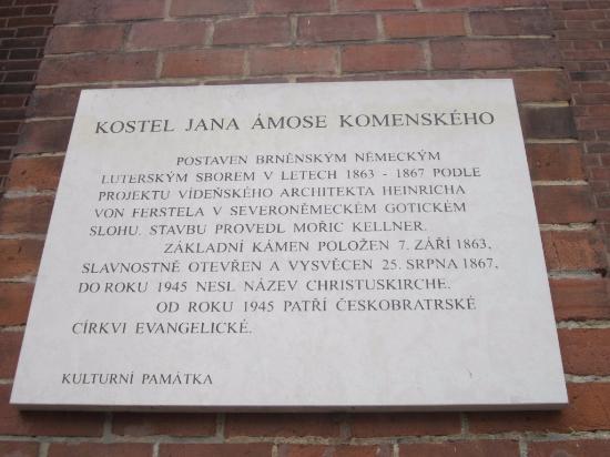 Brno, جمهورية التشيك: Табличка