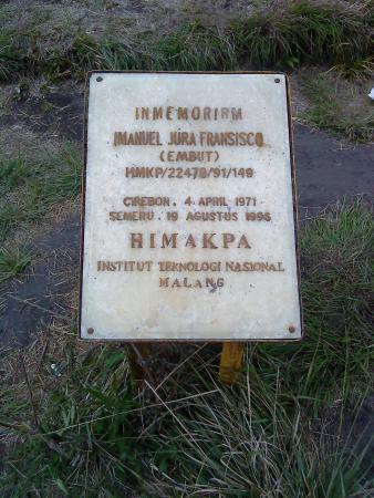 Lake Kumbolo: Penanda