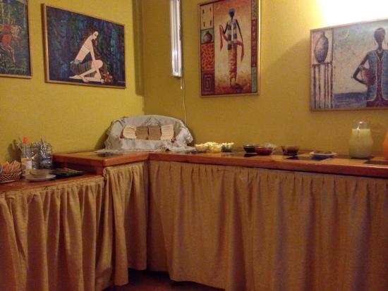 Bellas Artes Suites: Su desayuno americano no es mas que esta triste foto, un desastre