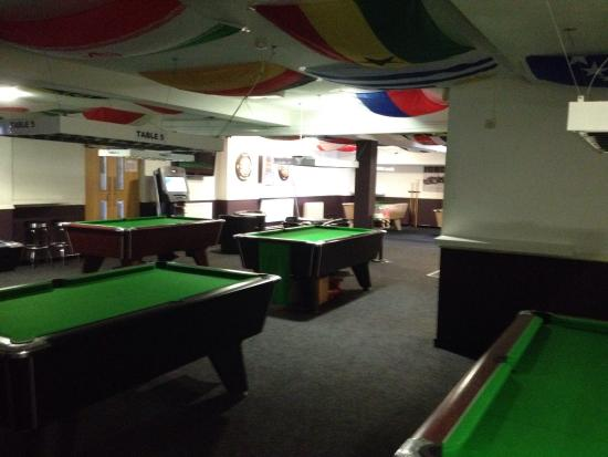upstairs snooker tables which houses 7 full size and one 3 4 size rh tripadvisor com au