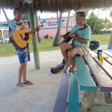 Breezy Palms Resort: Sunday morning Breezy Palms Band!