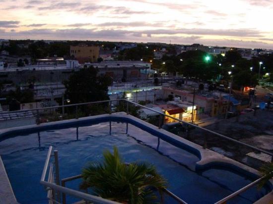 Paraiso Azul's -Casa De Gopala: Widok z dachu