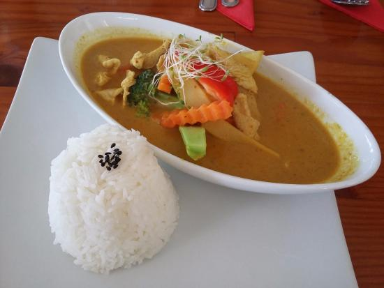Thai Crom Restaurant: curry with rice