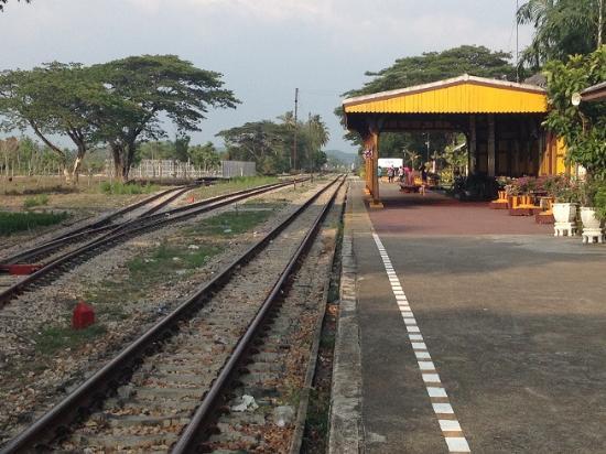 Kantang, Thaïlande : สถานีรถไฟกันตัง