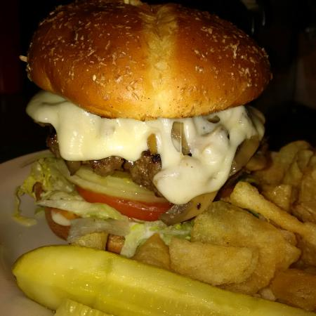 Delaware, OH: A mountain of a burger.