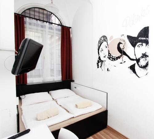 Adagio Hostel 1.0 Oktogon: Double Ensuite Room
